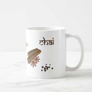 Chai condimenta la taza