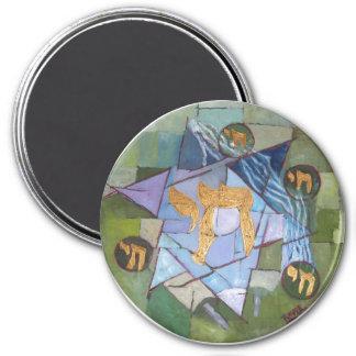 Chai 3 Inch Round Magnet