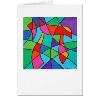 Chai Mosaic 4 x 5.6 Note Card