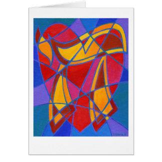 Chai Mosaic IV Greeting Card
