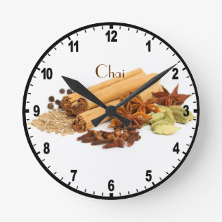 Chai Spice Wall Clock