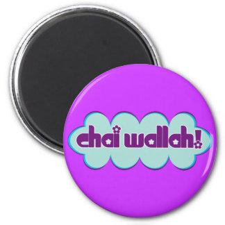Chai Wallah 2 Inch Round Magnet