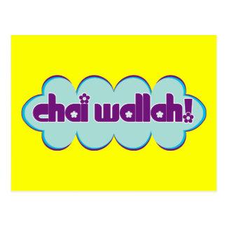 Chai Wallah Tarjetas Postales