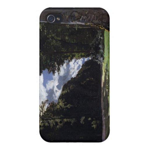 Chailly en el bosque de Fontainebleau (1865) iPhone 4/4S Fundas