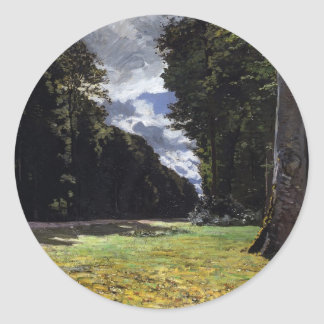 Chailly in the Forest of Fontainebleau (1865) Stickers