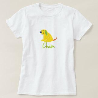 Chaim Loves Puppies T-Shirt