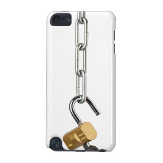 Chain and open lock iPod touch (5th generation) case