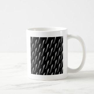 chain background classic white coffee mug