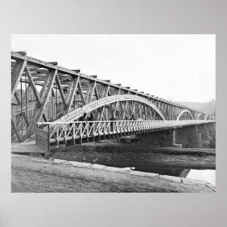 Chain Bridge: 1865 Poster