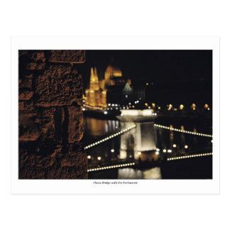 Chain Bridge and the Parliament Postcard