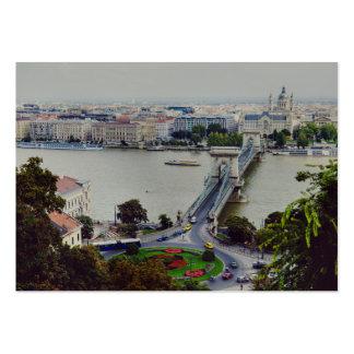 Chain bridge, Budapest Business Cards