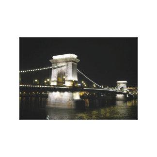 Chain Bridge - Budapest Canvas Print