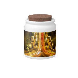 chain bridge budapest united states hungary bridge candy jars