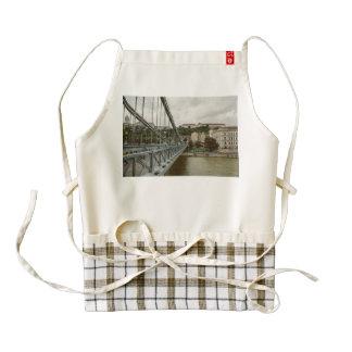 Chain bridge, Budapest Zazzle HEART Apron