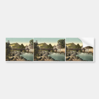 Chain Bridge Hotel, Berwyn Valley, Llangollen, Wal Bumper Stickers