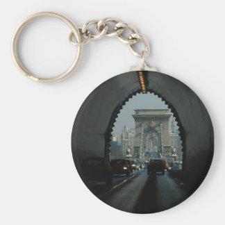Chain Bridge Keychain