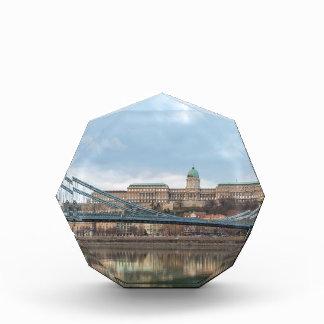 Chain Bridge with Buda Castle Hungary Budapest Award