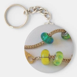 Chain by MelinaWorld Jewellery Basic Round Button Keychain