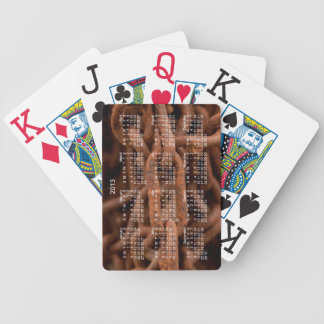 Chain Chain Chain; 2013 Calendar Bicycle Playing Cards