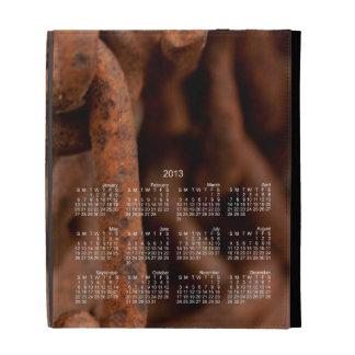 Chain Chain Chain; 2013 Calendar iPad Folio Case