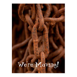 Chain Chain Chain Postcard