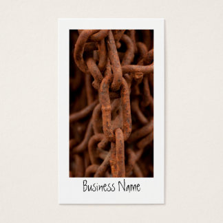 Chain Chain Chain; Promotional Business Card