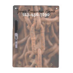 Chain Chain Chain; Promotional Dry Erase Board