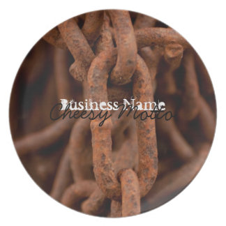 Chain Chain Chain; Promotional Plate