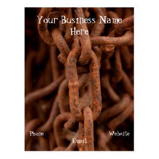 Chain Chain Chain; Promotional Postcard