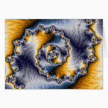 Chain Fractal Art Card