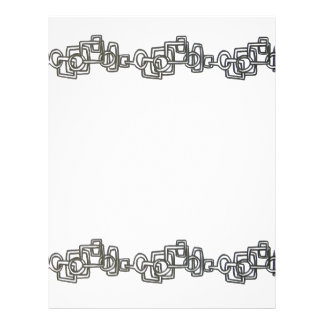 Chain Link-Black And White Bling Flyer