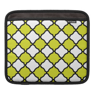 Chain Link Chartreuse Laptop Sleeve Sleeves For iPads