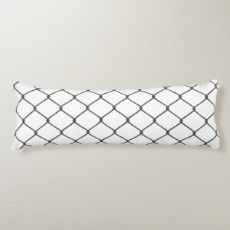 Chain Link Fence Body Pillow