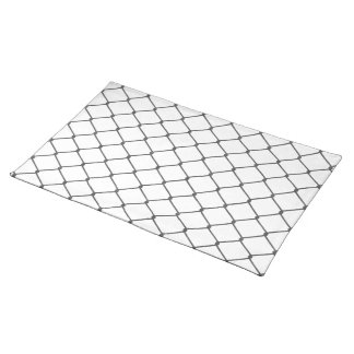 Chain Link Fence Cloth Placemat