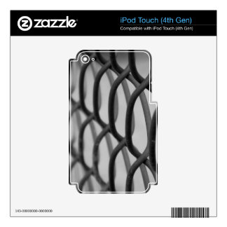 chain link fence decals for iPod touch 4G