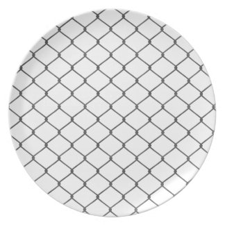 Chain Link Fence Melamine Plate
