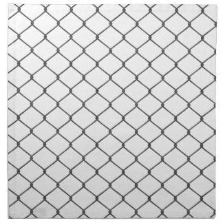 Chain Link Fence Napkin