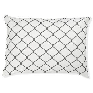 Chain Link Fence Pet Bed