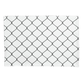 Chain Link Fence Pillowcase