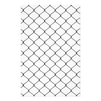 Chain Link Fence Stationery
