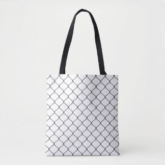 Chain Link Fence Tote Bag