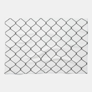 Chain Link Fence Towel