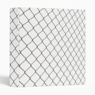Chain Linked Fence 3 Ring Binder