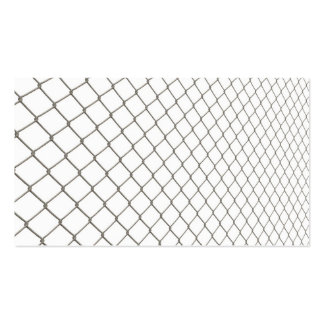 Chain Linked Fence Business Card