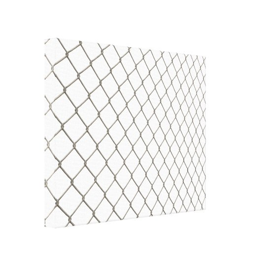 Chain Linked Fence Canvas Print