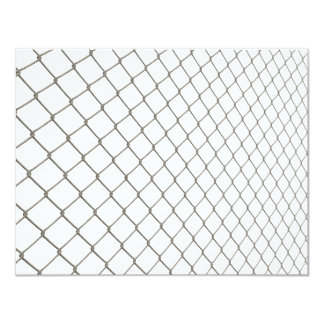 Chain Linked Fence Card