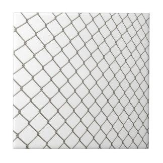 Chain Linked Fence Ceramic Tile