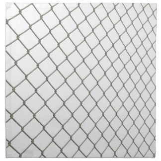 Chain Linked Fence Cloth Napkin