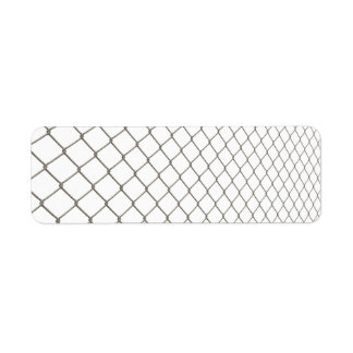 Chain Linked Fence Label