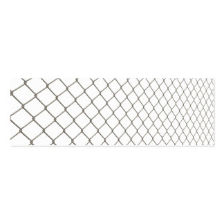Chain Linked Fence Mini Business Card